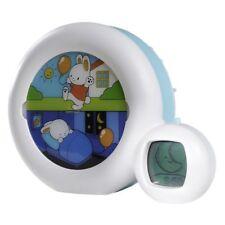 Claessens'Kids Indicateur de réveil pour enfant Kid'Sleep Moon 22x6x17 cm Bleu