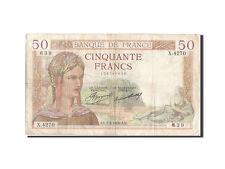 Billets, 50 Francs type Cérès #205496