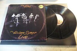 "VAN DER GRAAF GENERATOR"" VITAL LIVE-DISCO 33 GIRI DOUBLE CHARISMA Can 1978"""