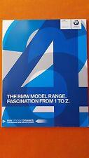 BMW car brochure 120i 330i 320i 520i 435i M5 M6 X5 X3 M 7 September 2015 MINT