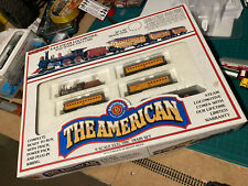 n scale Bachmann The American Train Set, Loco, Carriages, Track Etc Spares Only