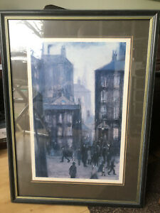 """L S Lowry """"Lodging House"""" Limited Edition Print #235/500"""