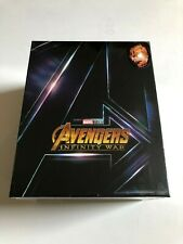 AVENGERS INFINITY WAR - ONE CLICK BLUFANS EXCLUSIVE #50 STEELBOOK MINT & SEALED