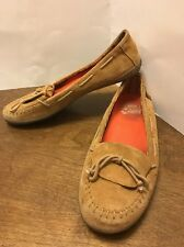 VANS Women's  Moccasins Loafers Surf Sider Shoes Size 7.5 Tan Loafers