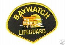 """NBC TV BAYWATCH BAY WATCH LA LIFEGUARD JACKET Iron-on PATCH 4"""""""