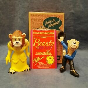 Bad Taste Bears Collectors Limited Edition Figurine - Beauty and the Beast