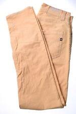 DONDUP Jeans da Uomo W32 L31 Giallo Cotone Skinny