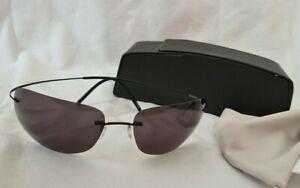 Silhouette Sonnenbrille mit Etui,8562, flexibel, neu, Herren, 200 Euro Neupreis