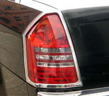 Chrysler 300 Chrome Taillight Trim Outline Bezels by Luxury Trims 2005-2007 Pair