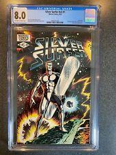 SILVER SURFER V2 No.1 - CGC 8.0 ONE SHOT - 1982 - GALACTUS MEPHISTO