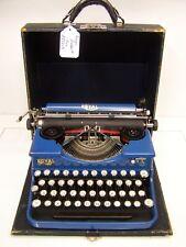 Antique 1927 Blue Royal P Model Typewriter