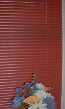 Venetian Blind / Blinds PVC Terracotta 60cm (2ft) New
