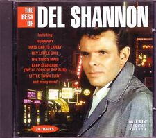 DEL SHANNON Best of CD Classic 50s Rock HATS OFF LARRY RUNAROUND SUE Anthology