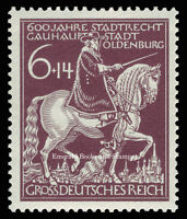 EBS Germany 1945 600th Anniversary of Oldenburg Michel 907 MNH**