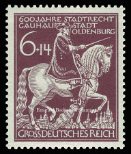 EBS Germany 1945 600th Anniversary of Oldenburg Michel 907 MNH**
