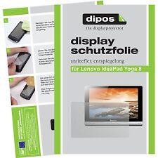 2x Lenovo IdeaPad Yoga Tablet 8 Schutzfolie matt Displayschutzfolie Folie dipos