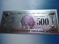 USA 500 DOLLARS / 999 SILVER APPLIKATION SILBER ARGENTO #4820