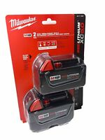 NEW IN SEALED PACKAGE 18V Milwaukee 48-11-1850 5.0 AH Batteries M18 48-11-1852