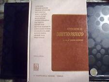 ISTRUZIONI DI DIRITTO PRIVATO - MARIO BESSONE - GIAPPICHELLI - 1998