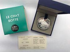 Monnaie de PARIS - 10 Euros Le Chat Botté 2012, NEUF