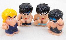 Street Fighter 2 Ryu & Ken Set Puppet Doll Figure Capcom Character Japan Game