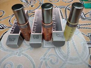 Mary Kay Nourishine Lip Gloss LOT OF 3 STARRY, GOLD RUSH, BEACH BRONZE