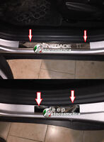 JEEP RENEGADE 2015 DOOR SILL TRIM COVERS PROTECTORS SET CHROME  STAINLESS STEEL.