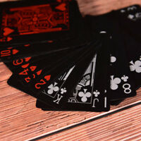 54pcs Waterproof Plastic PVC Playing Cards Collection Poker Cards Board Games