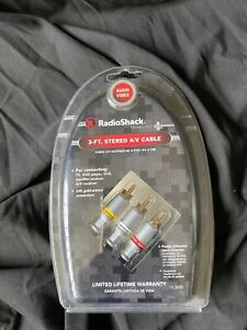 Radio Shack 3 Ft Stereo A/V Cable