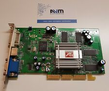 Scheda video AGP 8x Sapphire ATI Radeon 9200 128MB DDR GARANZIA Retrocomputing