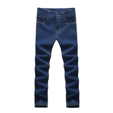 2017 new fashion men's casual stretch skinny jeans trousers men fashion jeans SE
