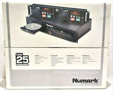 Numark CDN 25 Professional Dual DJ CD Player New Open Box