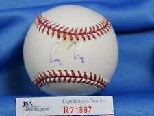 Greg Maddux Jsa Coa Hand Signed Major League Autograph Baseball