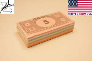 Complete Set of Monopoly Play Money Replacement Paper.