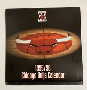 1995 1996 Chicago Bulls NBA Wall Calendar Michael Jordan Pippen Rodman 30 Years