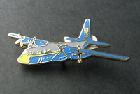 LOCKHEED HERCULES C-130 USN BLUE ANGELS AIRCRAFT LAPEL PIN BADGE 1.5 INCHES