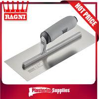 "Ragni Trowel 11"" 280mm x 120mm Stainless Steel FINISHING R418S-11HL"