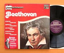 DPA 529/30 BEETHOVEN Favourite Composers Gamba Katchen Gulda 2xLP Decca NM/EX