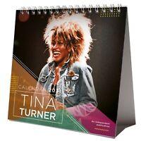Tina Turner 2021 Desktop Calendar NEW With Christmas Card