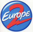 sticker autocollant french hit RADIO station - EUROPE 2 - 10cm idéal collection