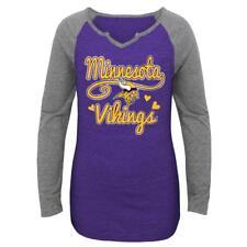 Minnesota Vikings NFL Youth Girls  Long-Sleeve Graphic T-Shirt Large (14 87e0ea85a