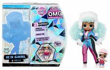 LOL Surprise OMG Winter Chill Icy Gurl Fashion Doll & Brrr B.b. Doll - 2020