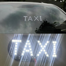 White DC 12V 45 LED Car Taxi Cab Roof Light Vehicle Sign Inside Windscreen Lamp