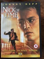 Nick of Time DVD 1995 Real Time Suspense Thriller Film Movie with Johnny Depp