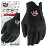 WILSON Rain™ MENS NONE SLIP WET WEATHER GOLF GLOVES PAIR ALL SIZES @ 40% OFF RRP