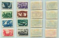 Russia USSR, 1949 SC 1376-1383, Z 1318-1325 used. f466