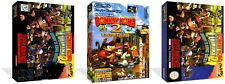 Donkey Kong Country 2 SNES Replacement Game Case Box + Cover Art work No Game