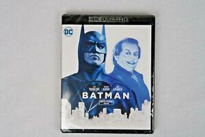 Batman (4K UHD,Blu-Ray, 1989, 2019 )     ** READ DESCRIPTION !