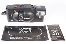 Olympus XA3 analoge Kleinbildkamera mit A11 Flash