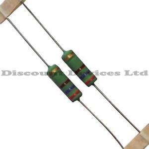 100ohm 5W  Power Resistor 100R 5Watt PACK OF 2